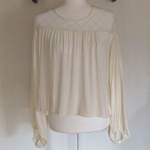 Hazel Long Sleeve Lace Top